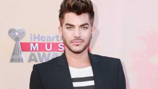 Singer Adam Lambert.