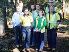 The Dangar Falls work crew deserve to feel proud of their labours.