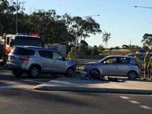Three Vehicle Crash on the Kirkwood Road