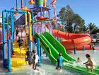 COUNCIL TICK: The water fun park at Oaks Oasis Resort at Caloundra can finally open to the public.