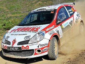 Gill and Swede dominate rally proceedings