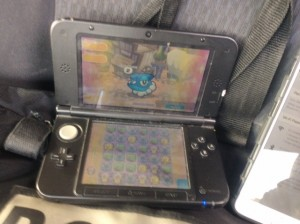 A man allegedly used a Nintendo DS while driving at 90kmh.