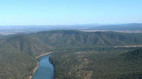 Proposed dam site on Fitzroy River. Photo Allan Reinikka / The Morning Bulletin