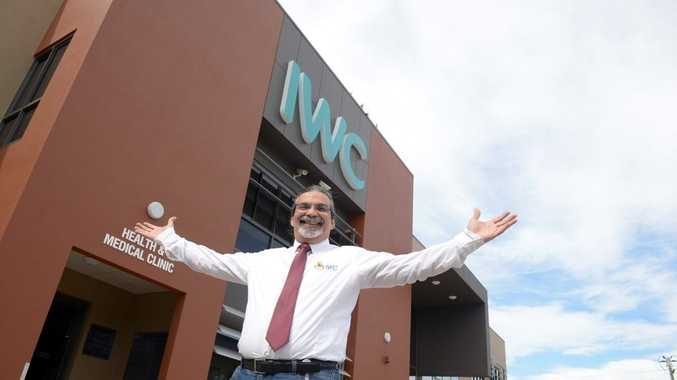 WE'RE EXPANDING: Integrated Wellbeing Centre CEO Ara Harathunian is pleased that the centre is planning to expand. Photo: Max Fleet / NewsMail