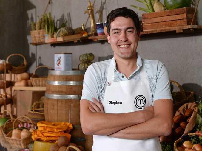 MasterChef Australia contestant Stephen Rooney.
