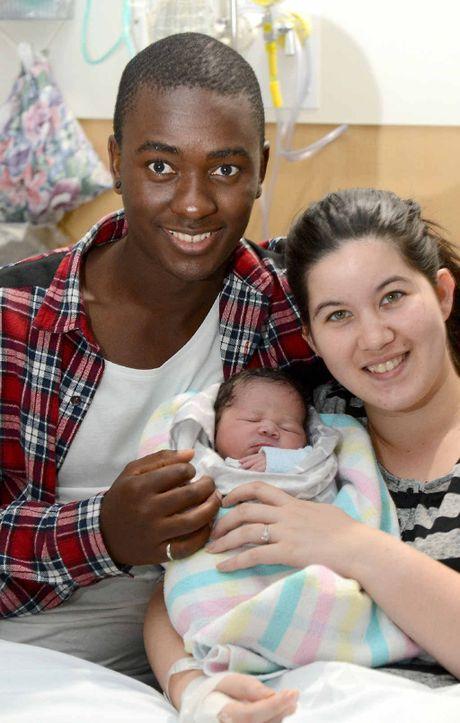 Cody and Nqobani Ndebele welcomed baby Khaya Ndebele on June 16. Khaya weighed 2.9kg.