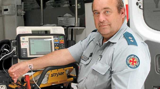 Former Stanthorpe Ambulance Station Officer-in-Charge Bill Martin.