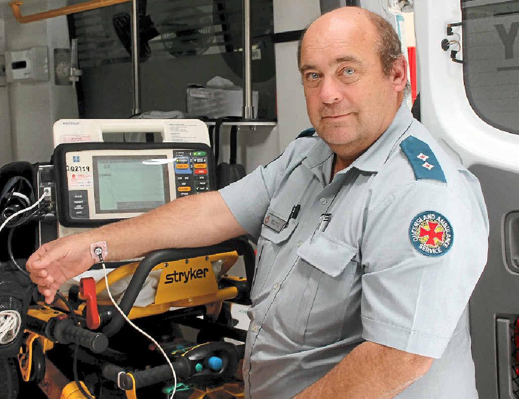 Former Stanthorpe Ambulance Station Officer-in-Charge Bill Martin.