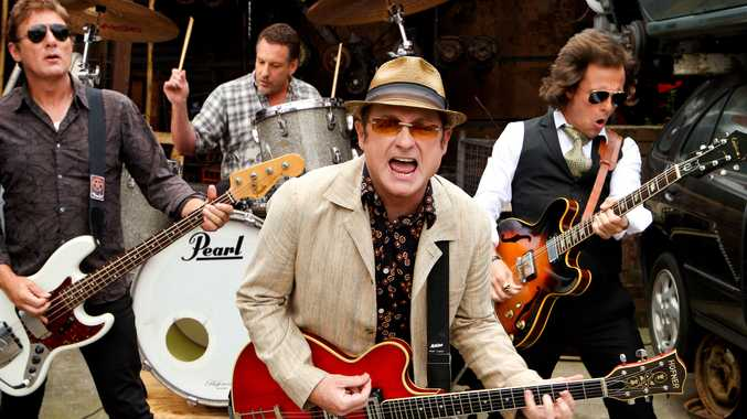 ANNUAL CONCERT: Hoodoo Gurus will line up at the Sandstone Point Hotel.