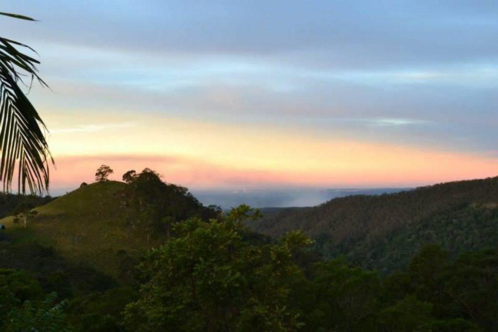Sarah Fleming: Bunya Mountains looking towards Nanango. Photo Contributed