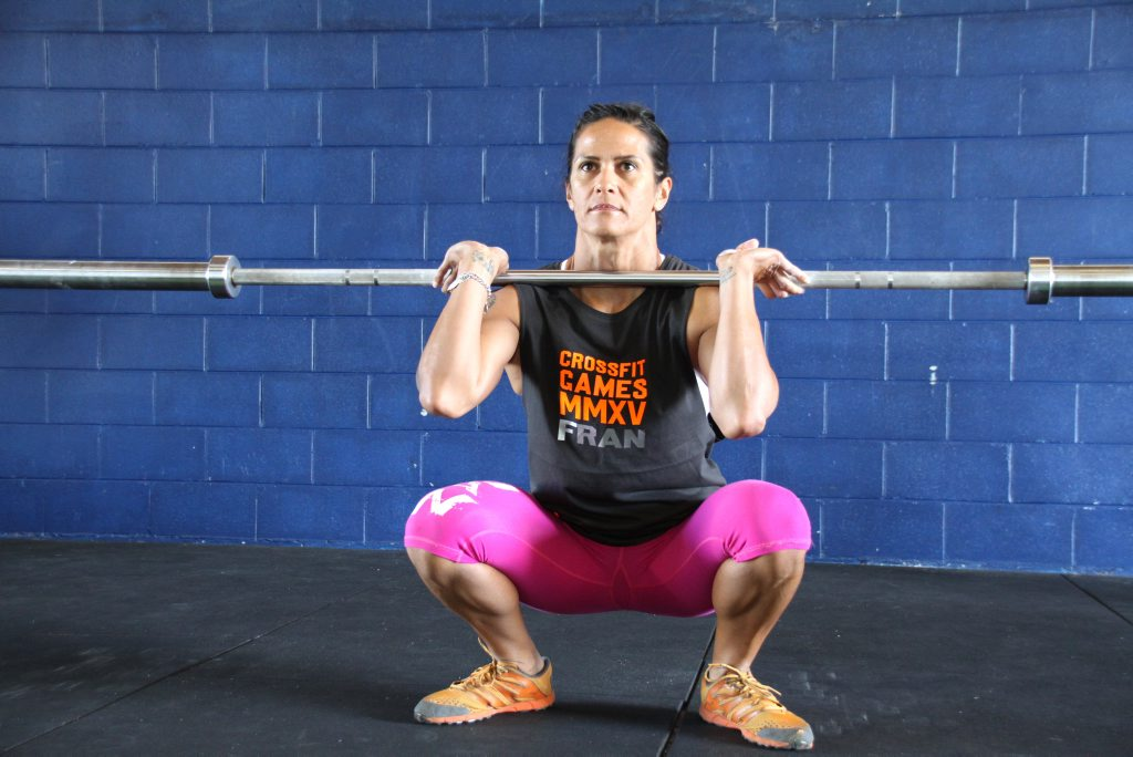 Francine Pehi needs help getting to the Crossfit Games in the USA (it's like going tro the Olympics for crossfitters). Francine going through one of her training regimes at Crossfit Iron Lion Photo: Pete Evans / Sunshine Coast Daily