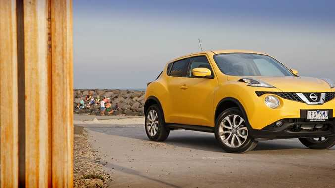 POLARISING: Love or hate the styling, the Nissan Juke is a baby SUV sure to get attention