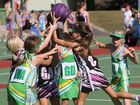 Junior Netball. Under 9: Pandas 13 v Amazons 9. Photo: Franca Tigani /The Queensland Times: IPS200615JNET24J.