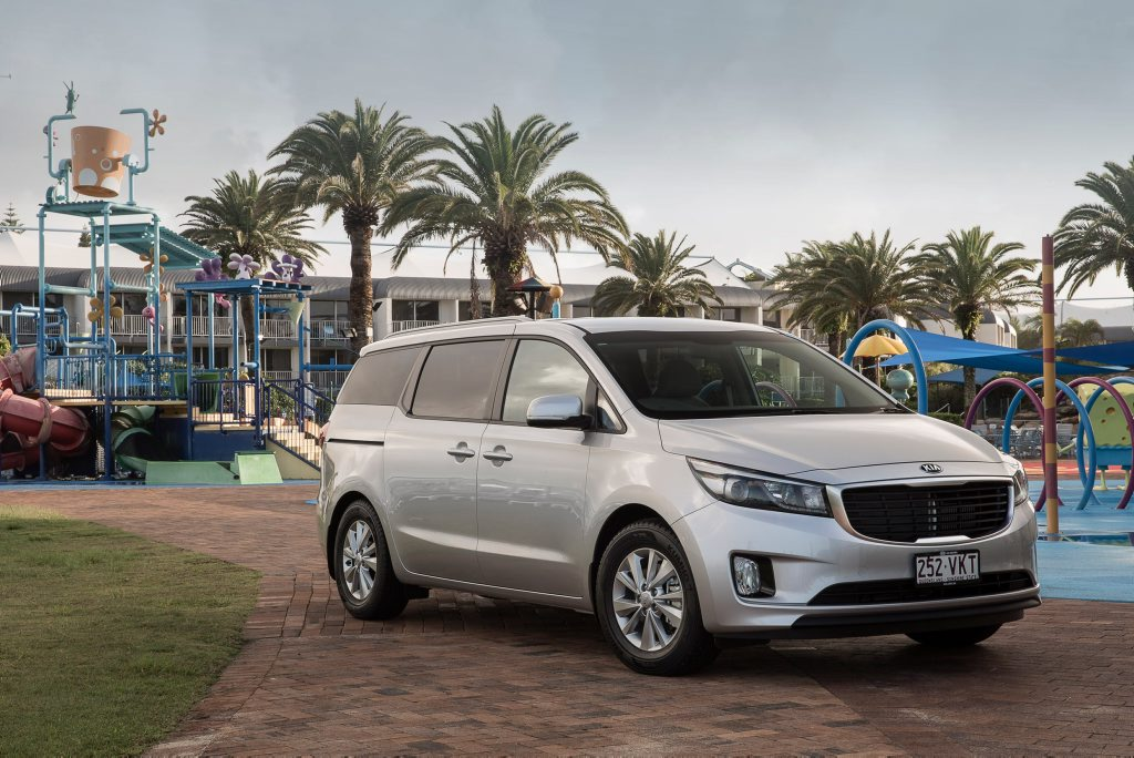 SPACE SHIP: New Kia Carnival has seating for eight and excellent versatility to transform the cabin from minibus to vast cargo carrier and lots in between