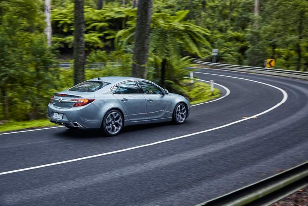 HIGH SPEC: Insignia VXR comes with 20-inch alloys, heated Recaro seats, rear camera and navigation as standard.