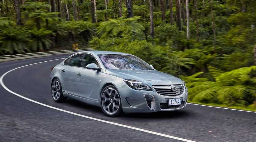 NEW CHALLENGER: Holden's new Insignia VXR boasts all-wheel drive and a 239kW Aussie-made 2.8-litre turbocharged V6.
