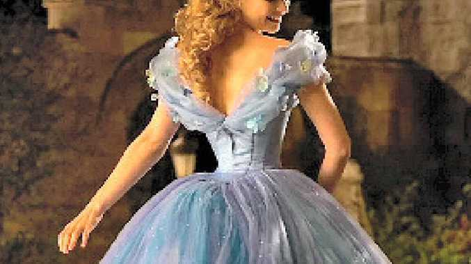 DISNEY REDONE: Lily James as Cinderella.
