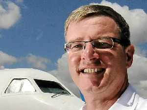 Wellcamp airport boss revs up for cancer event