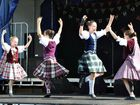 GALLERY: Tartan-clad dancers on a high