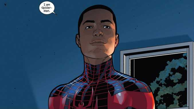 Miles Morales is to replace Peter Parker as the new Spider-Man