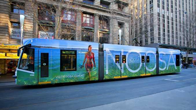Noosa tram in Melbourne.