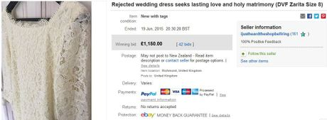 The heart-wrenching wedding dress ad
