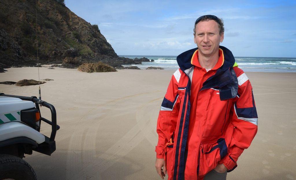 PRESIDENTS AWARD: Jimmy Keough of surf life saving Far North Coast.