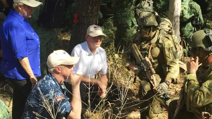 Michelle Landry MP will host Assistant Defence Minister Stuart Robert and Chief of Defence Mark Binskin for a visit to Exercise Talisman Sabre near Rockhampton.