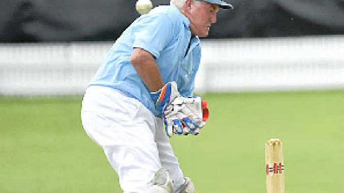 KEEPING THE GLOVES ON: Harwood veteran Tim McMahon hasn't discounted taking up umpiring when he pulls stumps on his cricket career. PHOTO: ADAM HOURIGAN