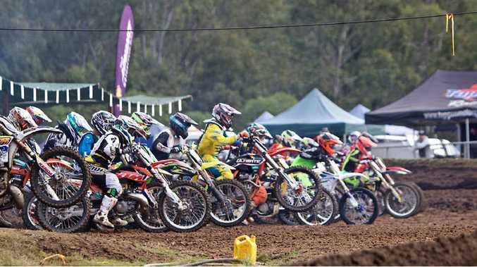 Tivoli Raceway is hosting the Queensland Moto X titles.