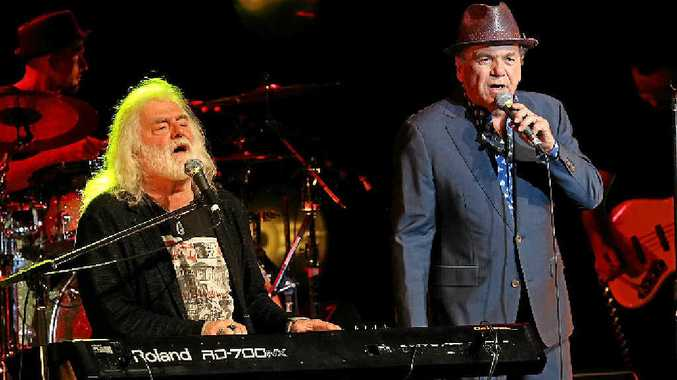 Brian Cadd and Glenn Shorrock will bring Sharky & The Caddman to Mackay this Saturday.