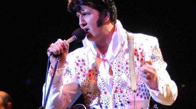 STUNNING TRIBUTE: Mark Anthony has been officially rated in the top five Elvis Presley tribute artists in the world.