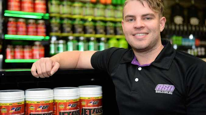 PUMPED UP: ASN Rockhampton manager Matthew Mallet wants more people to be educated about the use of pre-workout and not misuse the common supplement.
