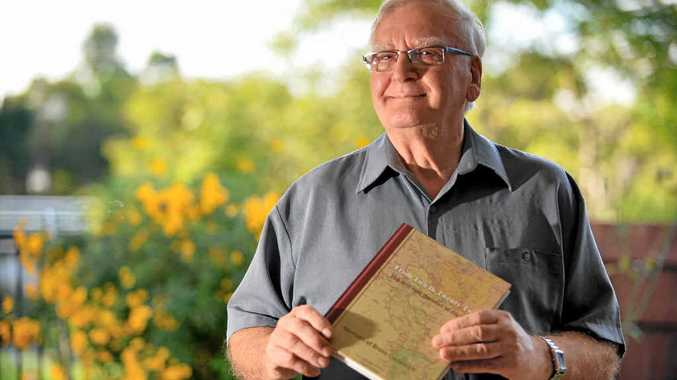STORY RETOLD: Bruno Cociancich, 79, has written a book about his life in Italy during the Second World War.