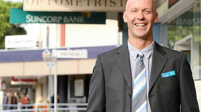 STREETS AHEAD: Drew Westbrook has been appointed by Caloundra Chamber of Commerce to rejuvenate the CBD.