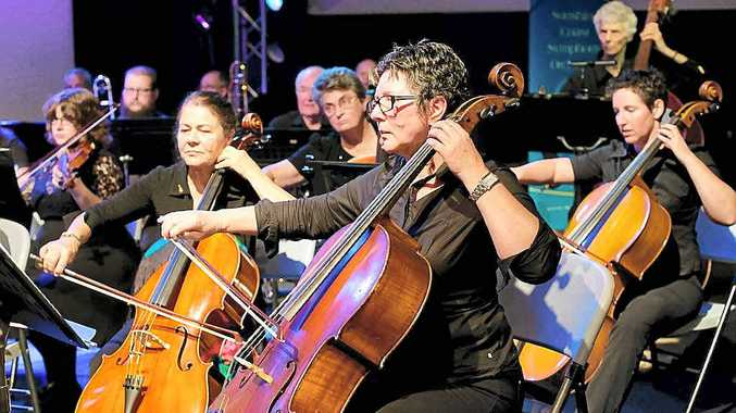 POPULAR PIECES: Sunshine Coast Symphony Orchestra will hold a Christmas in July concert.