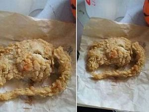 Chicken tonight? DNA results back on KFC 'rat'