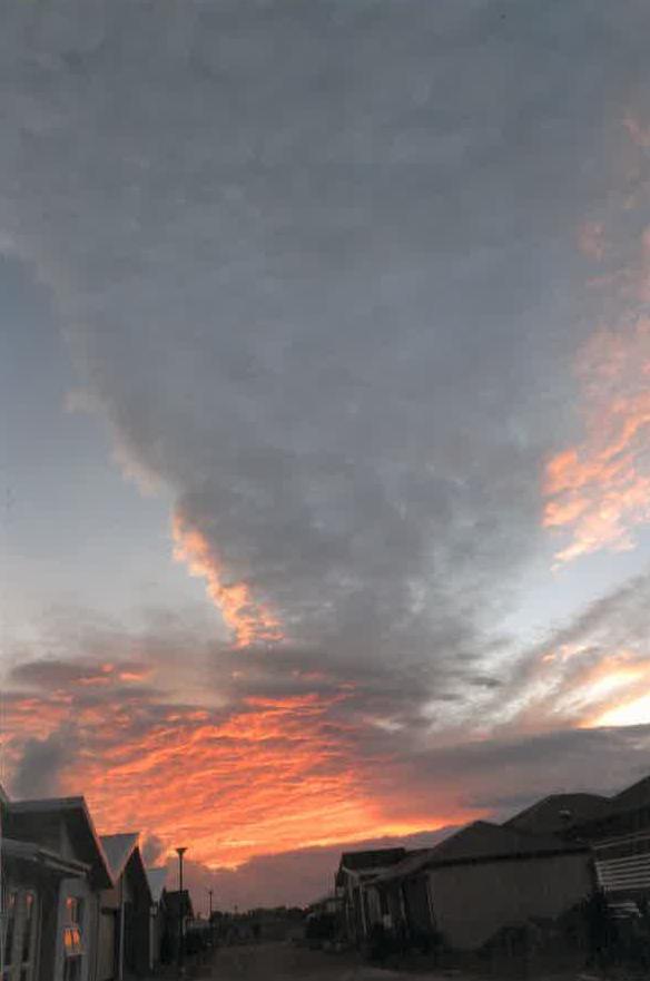 Gwenda Parker took this stunning sky photo at Bargara.