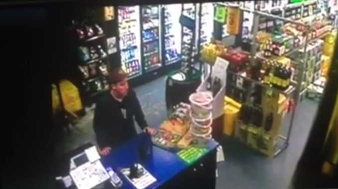 Police are looking for this man in connection with a stealing incident at a bottle shop in Fernvale.