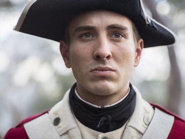 Ryan Corr stars as Corporal Matthew Macdonald in the TV series Banished.