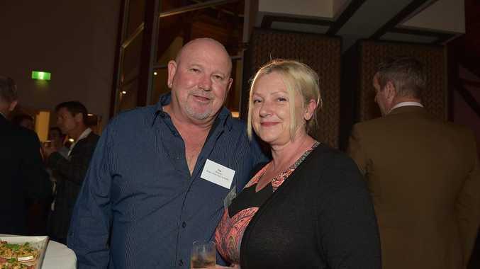 Sunshine Coast Business Awards Launch at Novotel Twin Waters. Tim and Anita Roberts from Rent 2 Own Cars Australia Photo: Warren Lynam / Sunshine Coast Daily