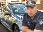 SURVIVE YOUR DRIVE: Toowoomba Road Policing Unit Senior Constable Jason Burrows . Thursday, Jun 25, 2015 . Photo Nev Madsen / The Chronicle