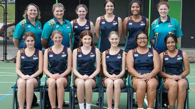 BUILDING NICELY: St Augustine's College netball and rugby league teams prepare for Queensland Confraternity carnivals next week.