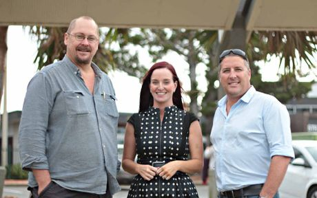COMMUNITY EVENT: Festival co-ordinator Jason Pfingst, Member for Keppel Brittany Lauga and Sea Haven's Greg Wright say the Village Festival is a fun event with a family friendly vibe.