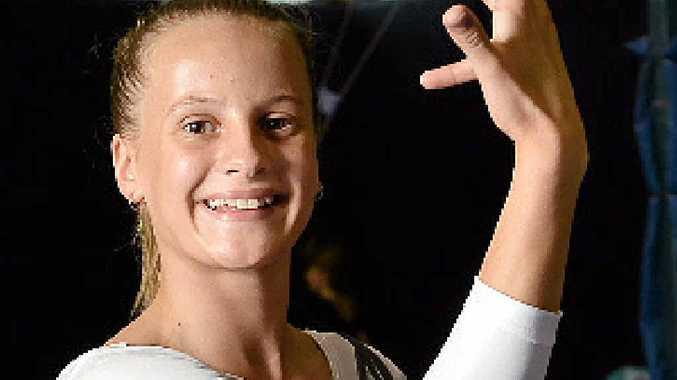 IMPRESSIVE: Sunshine Coast gymnast Imogen Beardsley fared well in the recent national championships.