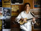 Vic Kena from the Australian Ukulele Show is hosting Ukulele workshops at the Royal Mail Hotel in Goodna. Photo: David Nielsen / The Queensland Times
