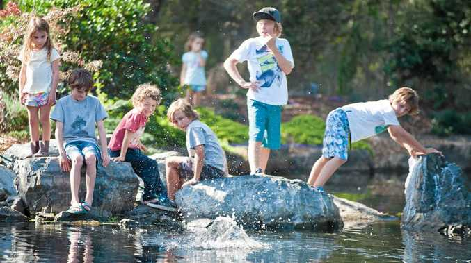 JOIN IN: School holiday workshops at the North Coast Regional Botanic Garden are designed to be fun and engaging.