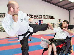 Cerebral palsy no match for martial artist