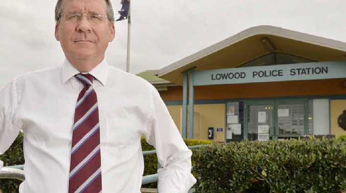 ON THE CASE: Ipswich West MP Jim Madden is calling for Lowood Police Station to be a 24-hour station and has backed Queensland Police Union president Ian Leavers call for extra police to be sent there.