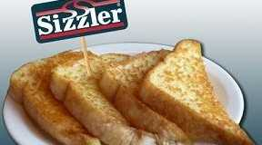 Accept no imitations, says Sizzler, only we have the real cheese toast.